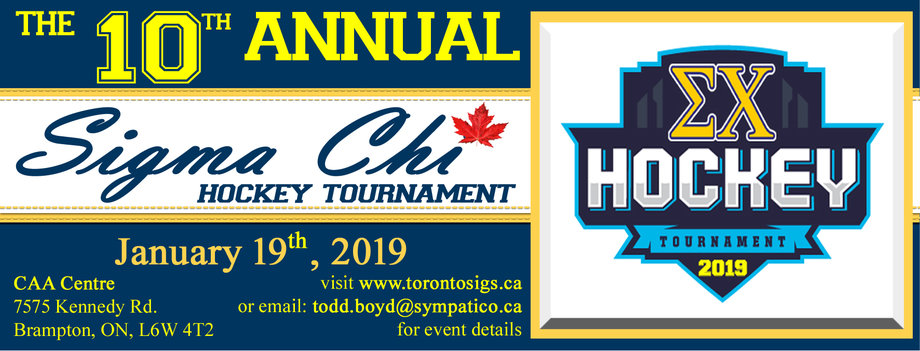 Toronto Sigs 2019 Sig Hockey Tournament